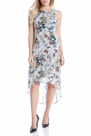 Karen Kane Butterfly Hi-Lo Dress - Product Mini Image