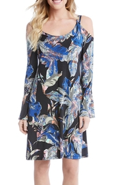 Karen Kane Cold Shoulder Dress - Product Mini Image