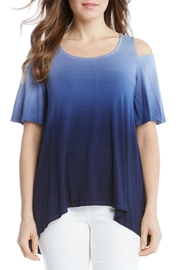 Karen Kane Cold Shoulder Top - Product Mini Image