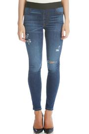 Karen Kane Distressed Ankle Jean - Product Mini Image