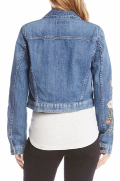 Karen Kane Embroidered Denim Jacket - Alternate List Image