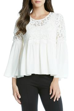 Shoptiques Product: Flare Lace Top