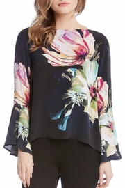 Karen Kane Flare Sleeve Top - Product Mini Image