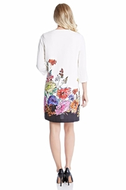 Karen Kane Floral Border Dress - Front cropped