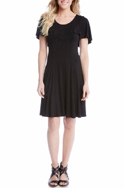 Karen Kane Flutter Sleeve Dress - Product Mini Image