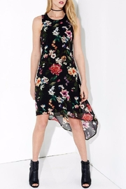 Karen Kane High Low Floral Dress - Product Mini Image