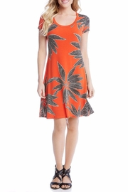 Karen Kane Orange Shirt Dress - Product Mini Image
