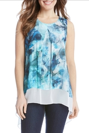 Karen Kane Sea Glass Top - Front full body