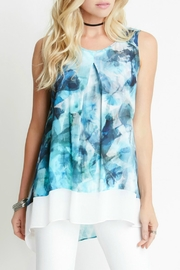 Karen Kane Sea Glass Top - Front cropped