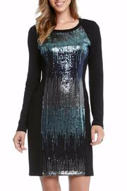 Karen Kane Sequin Panel Dress - Product Mini Image
