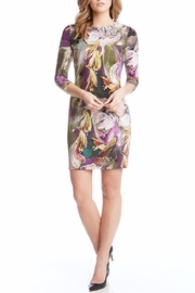 Karen Kane Abstract Floral Dress - Product Mini Image