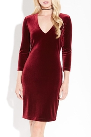 Karen Kane Velvet V-Neck Sheath - Product Mini Image