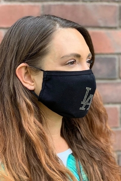 Karen Michelle Bedazzled Face Mask (Unisex) - Alternate List Image