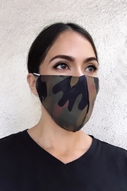 Karen Michelle Camo Green Face Mask - Product Mini Image