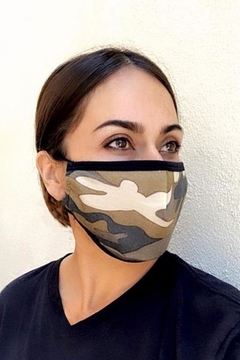 Karen Michelle Camouflage Face Mask (Unisex) - Product List Image