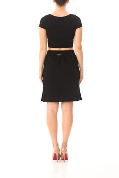 Karen Michelle Cotton-Spandex Pocket Skirt - Alternate List Image