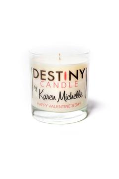 Karen Michelle Happy Valentines Day Candle - Alternate List Image