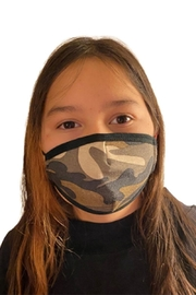 Karen Michelle Junior Camouflage Mask (Unisex) - Front cropped