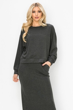 Karen Michelle Soft Hacci Skirt And Top - Product List Image