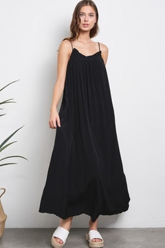Karen Michelle Tie Back Maxi Dress - Product List Image