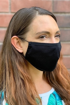 Karen Michelle Unisex Black Face Mask Pack Of 10 - Product List Image