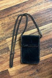 Karen Michelle Vegan Cross Body Phone/purse With Flap - Product Mini Image