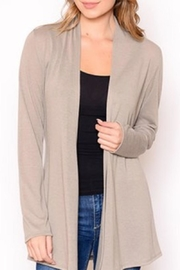 Karen Michelle Waterfall Cardigan - Front cropped