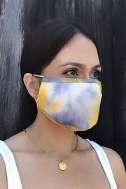 Karen Michelle Yellow Sun Face Mask - Product Mini Image