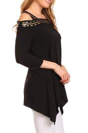 Karen T Designs 3/4 Sleeve Tunic - Back cropped