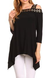 Karen T Designs 3/4 Sleeve Tunic - Front cropped