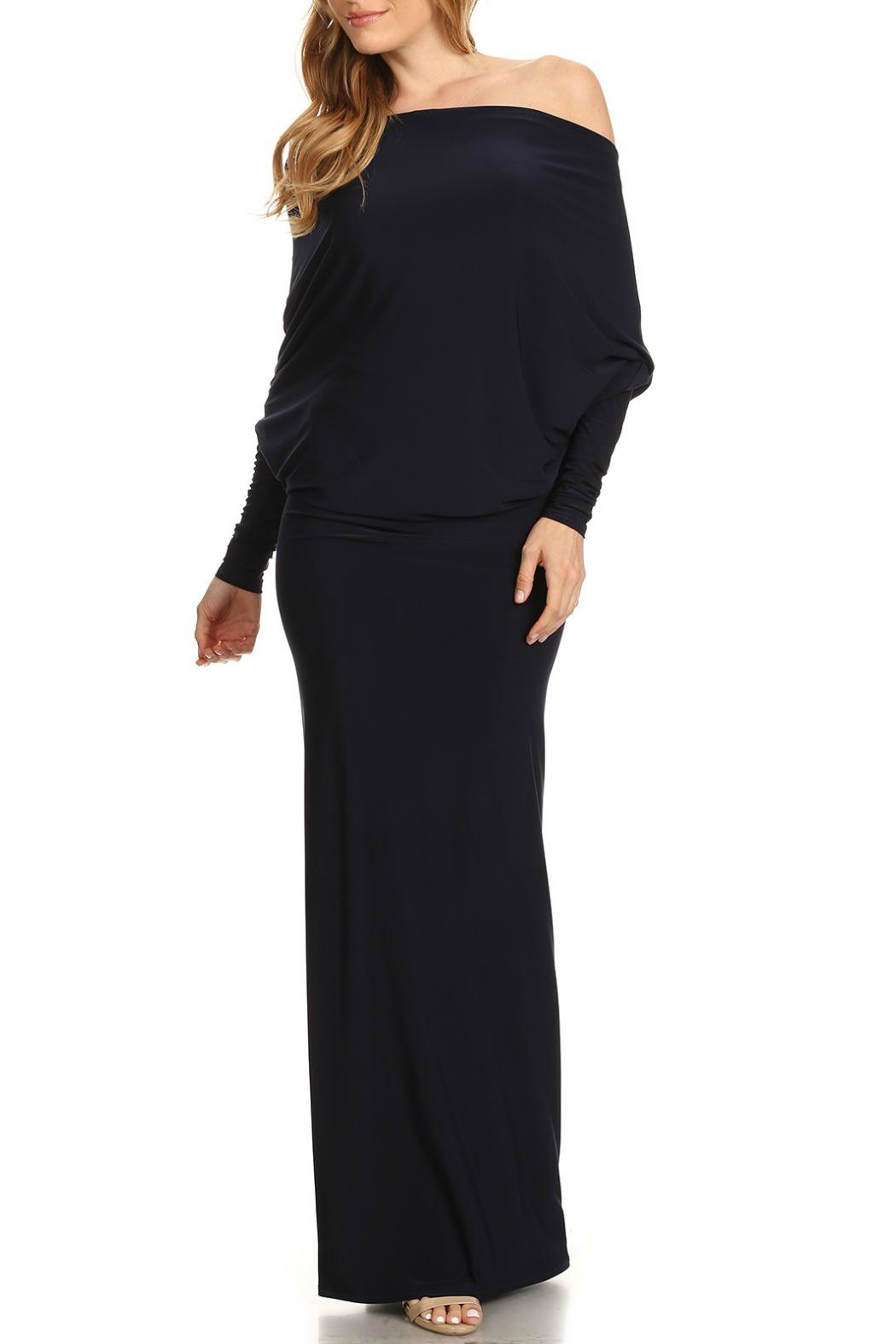 Karen T Designs Low Back Maxi - Front Cropped Image