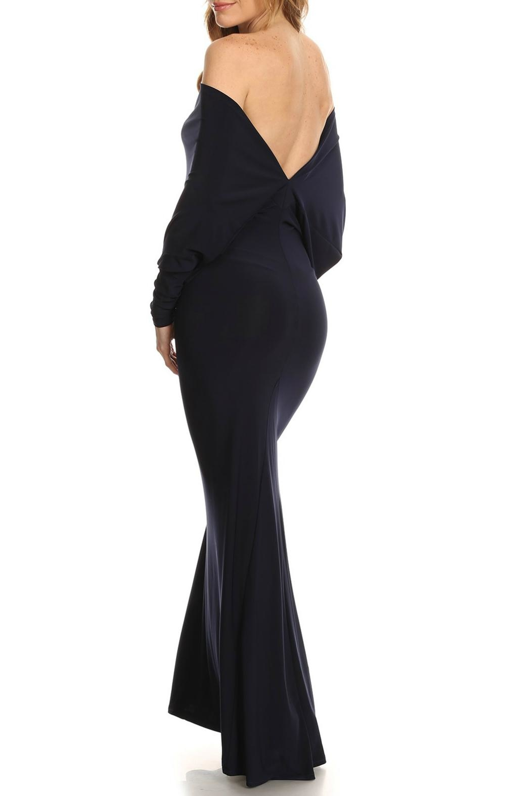 Karen T Designs Low Back Maxi - Front Full Image