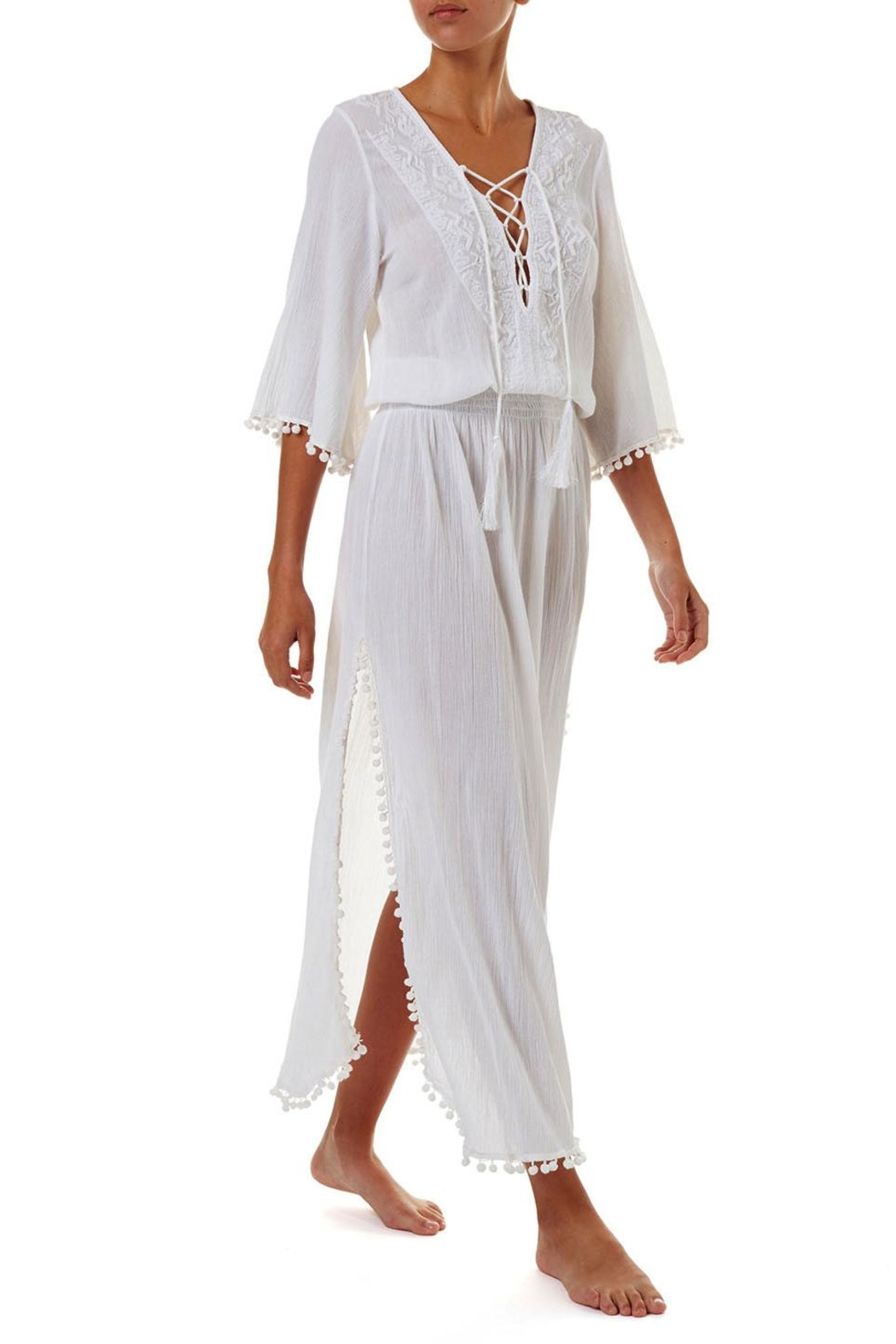 Melissa Odabash Kari Maxi Dress - Front Full Image