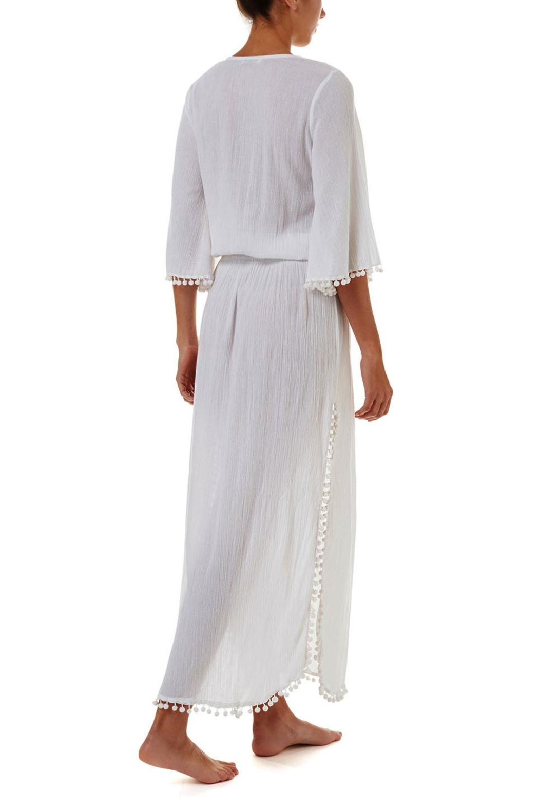Melissa Odabash Kari Maxi Dress - Side Cropped Image