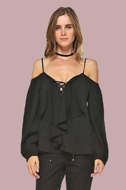 People Outfitter Karina Off-Shoulder Top - Product Mini Image