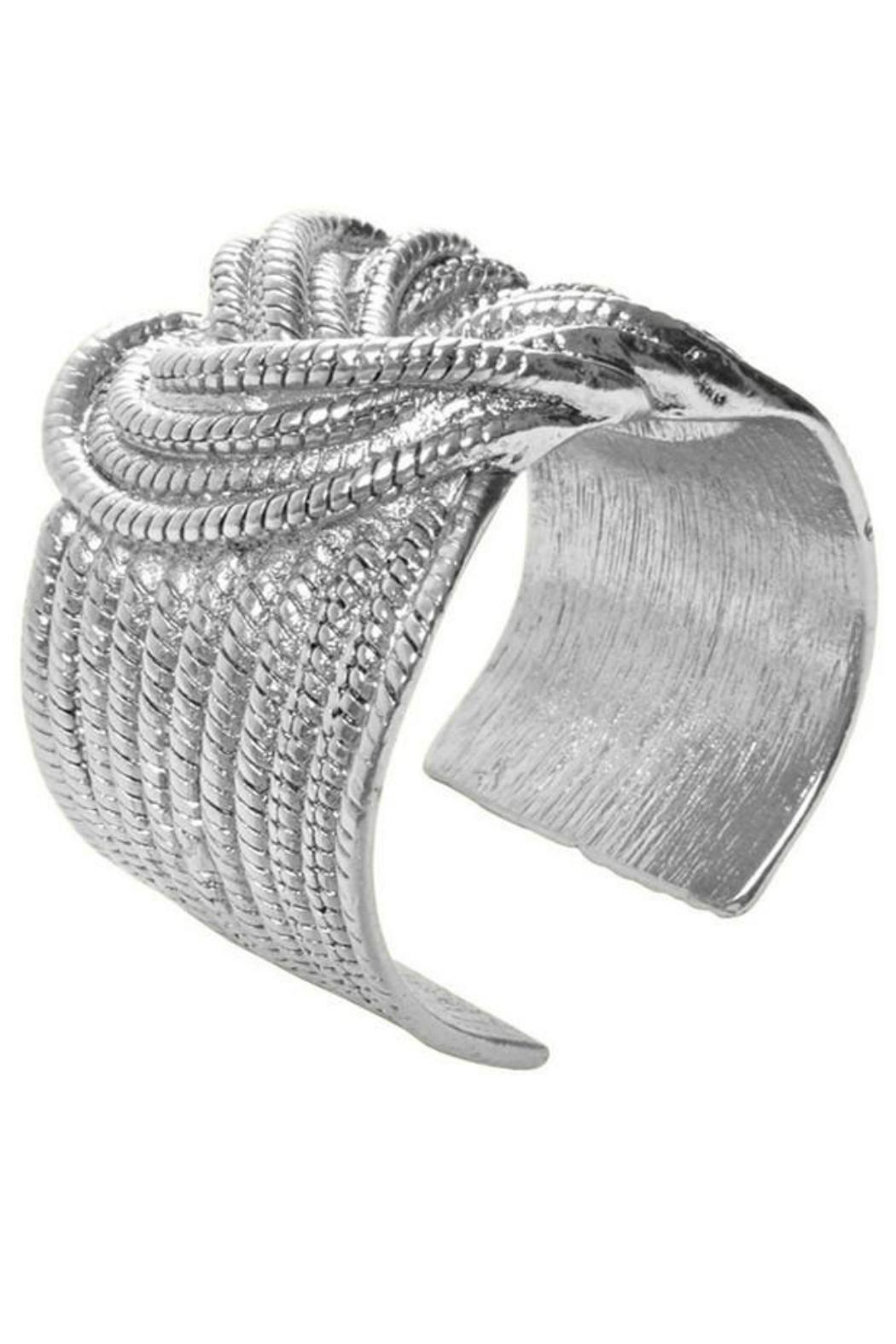 Karine Sultan Paris Boating Knot Cuff - Front Cropped Image