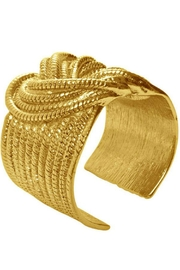 Karine Sultan Paris Boating Knot Cuff - Front cropped