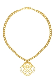 Karine Sultan Paris Celtic Knot Necklace - Product Mini Image