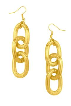 Shoptiques Product: Chunky Chain Earrings