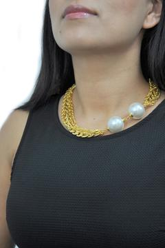 Shoptiques Product: Double Pearl Necklace