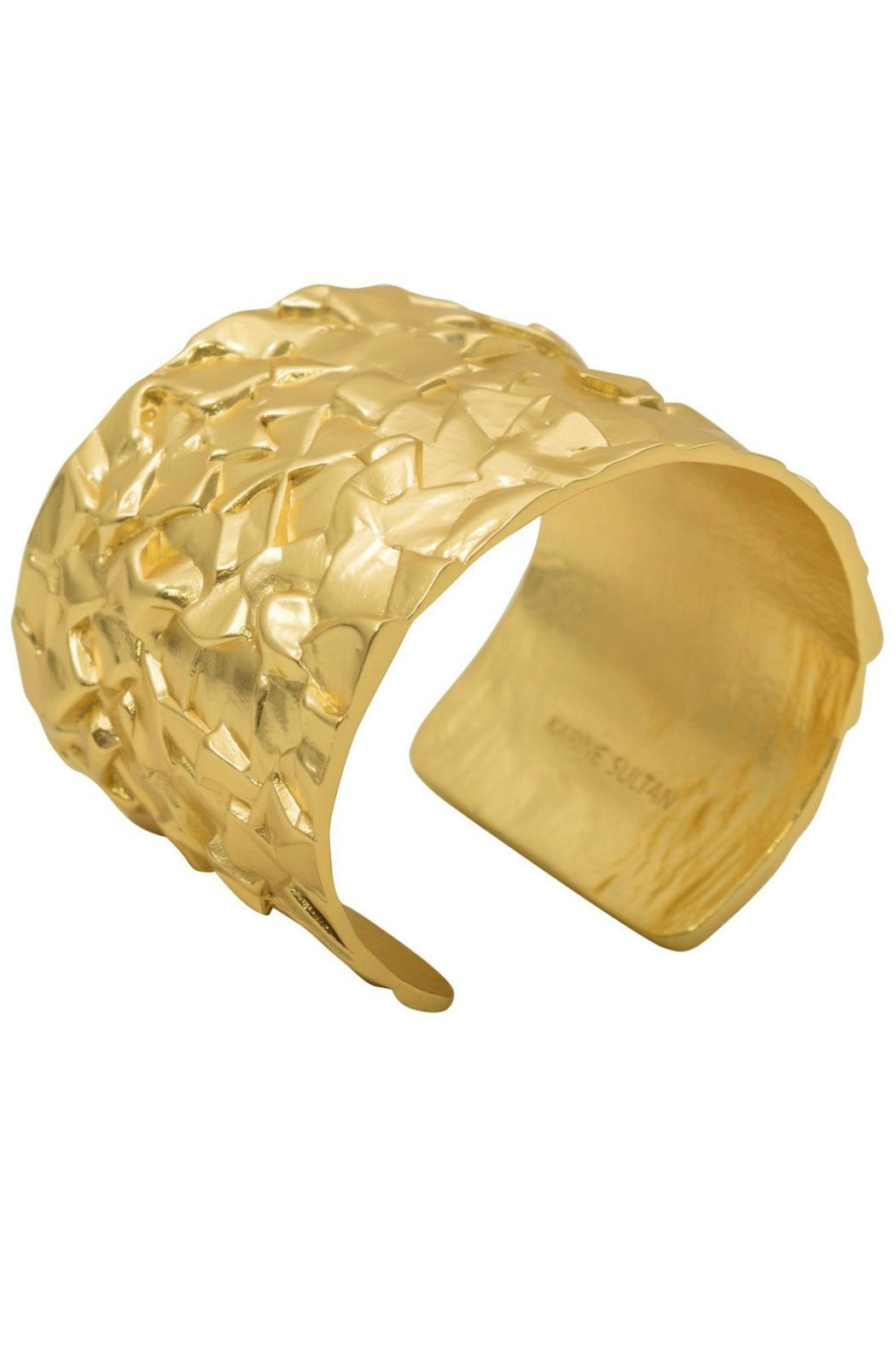 Karine Sultan Paris Nubby Antique Cuff - Front Cropped Image