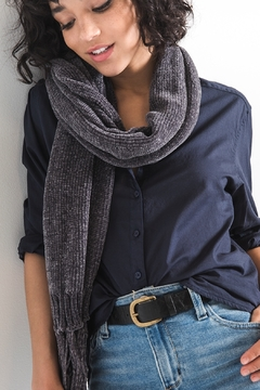 Shoptiques Product: Karla chenille scarf