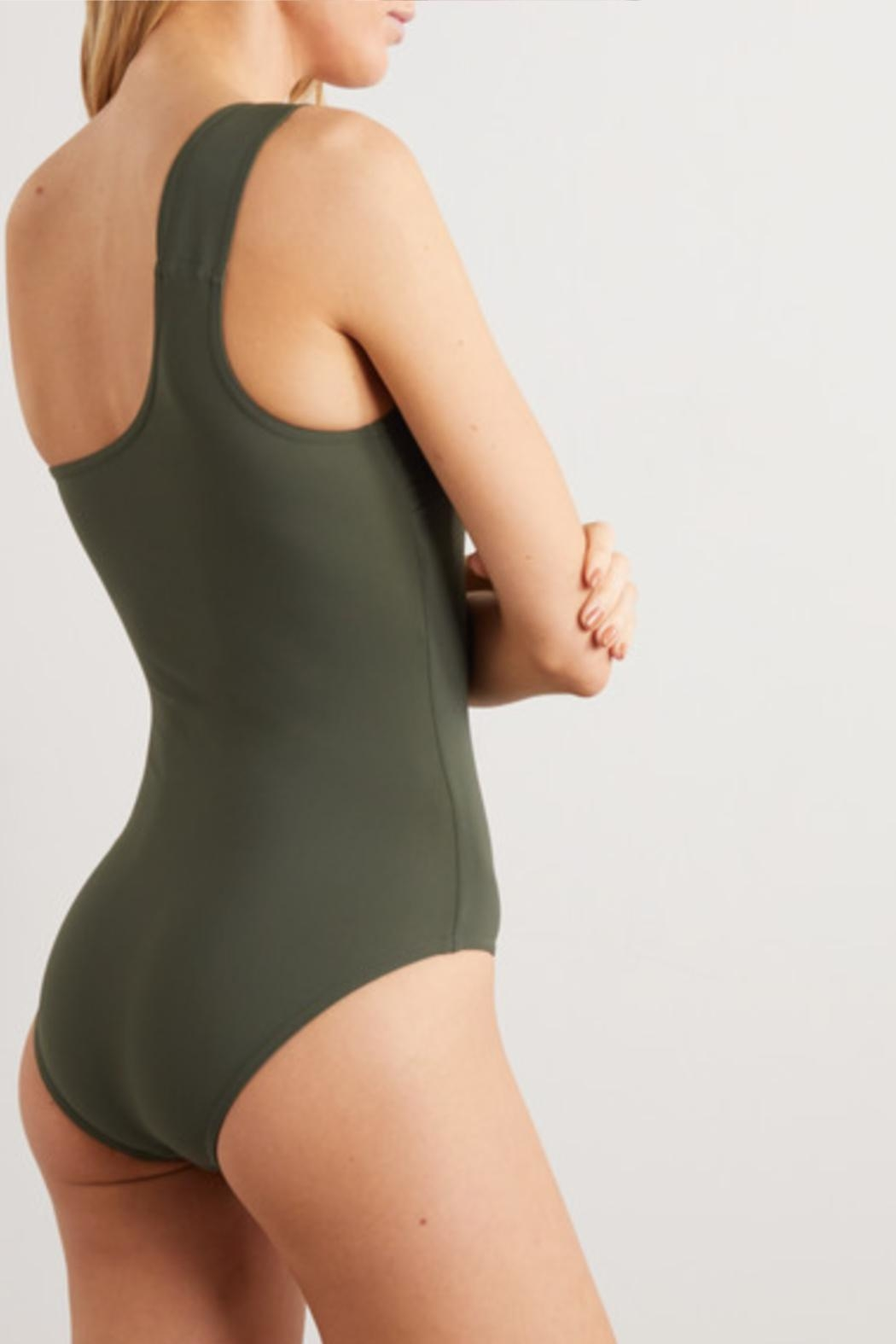 Karla Colletto Angelina One-Shoulder One-Piece - Front Full Image