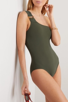 Karla Colletto Angelina One-Shoulder One-Piece - Product List Image
