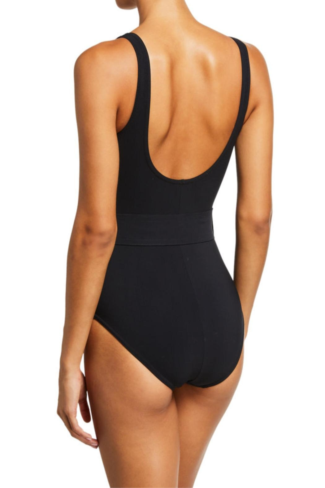 Karla Colletto Angelina Belted One-Piece - Front Full Image