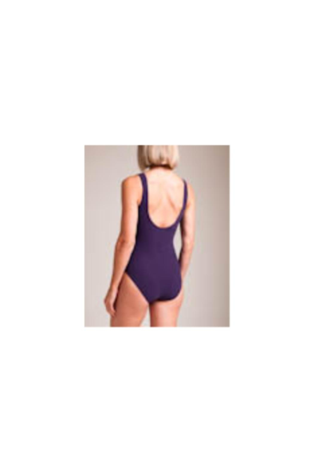 Karla Colletto Joana V-Neck One-Piece - Side Cropped Image