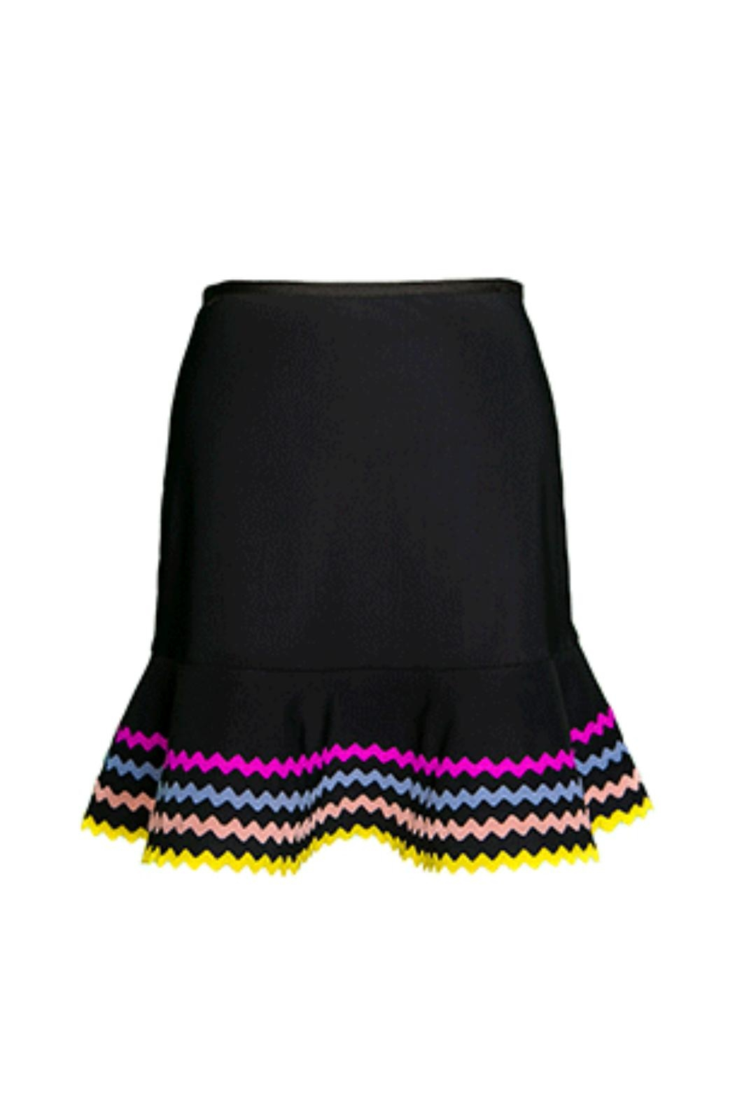 Karla Colletto Zola Pull-On Skirt - Main Image
