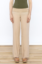Karlie All Linen Pants - Front full body