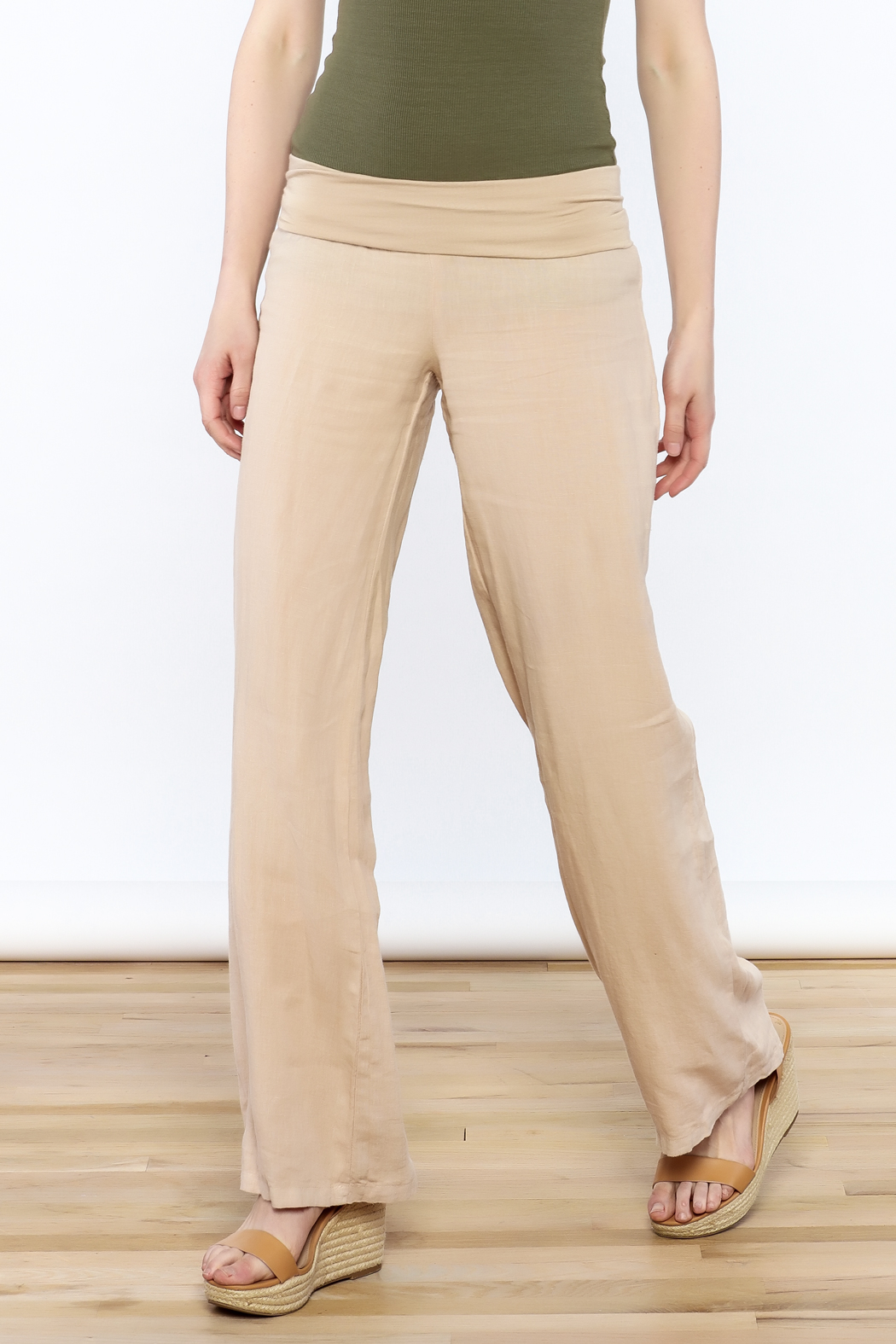 Karlie All Linen Pants - Main Image