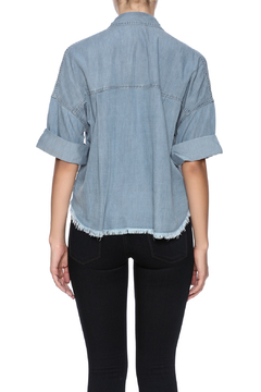 Karlie Clothes Short Sleeve Chambray Shirt - Alternate List Image